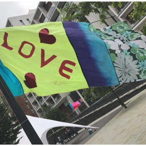 Guerrilla Arts: FLAG IT UP! Drop-In Workshops