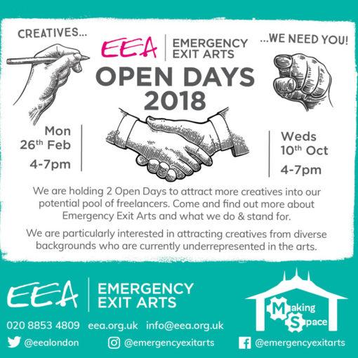 EEA Open Days 2018