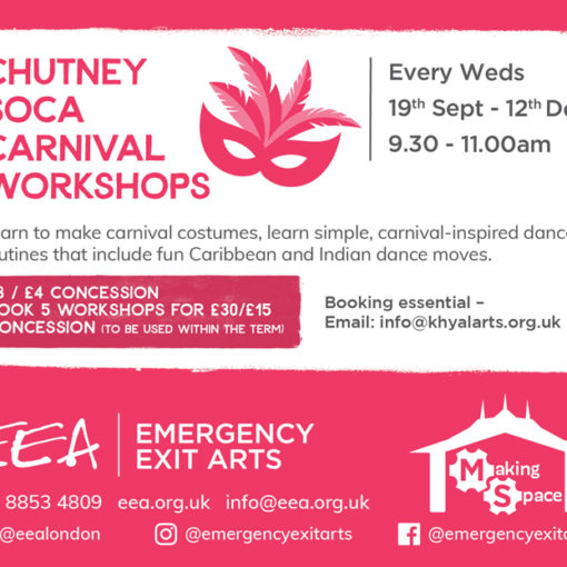 Chutney Soca Carnival Workshops