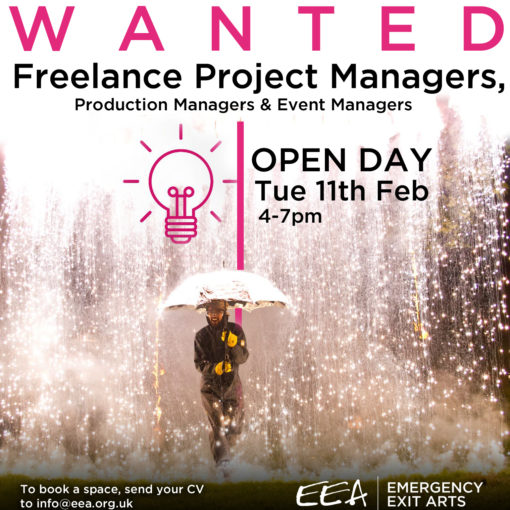 ​Freelance Project Managers Wanted! - Open Day