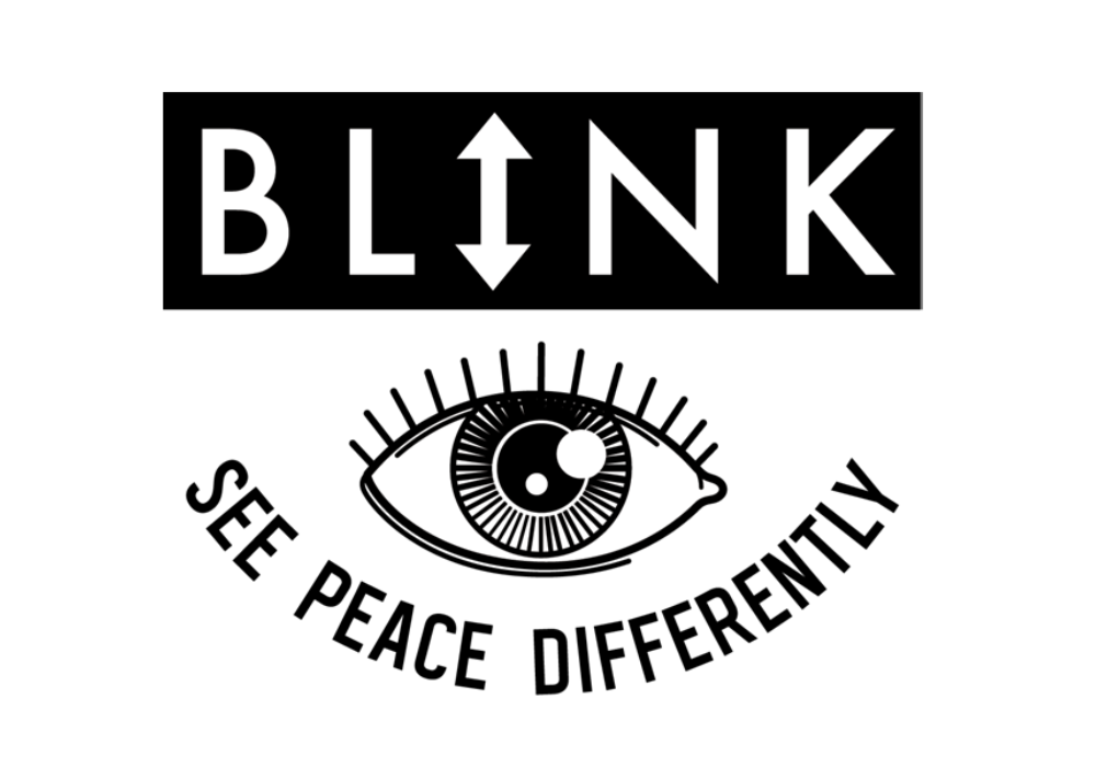Logo Long Blink Logo Full Logo With Box Black