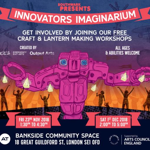 Innovators Imaginarium Workshop by Kathryn Corlett