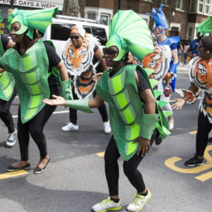 Newham Carnival 2017 Animal Dancers