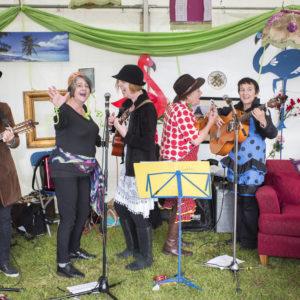 Thamesmead Festival 2017 Ukelele Band
