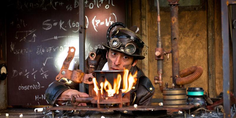 Dr Kronovator's Fire Laboratory