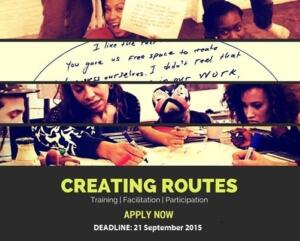 Creating routes recruitment