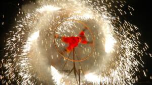 Pyrotechnic Performance 3