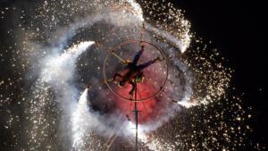 Pyrotechnic Performance 5