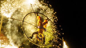 Pyrotechnic Performance 7