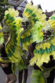 Newham Carnival 2017 Green Costumes