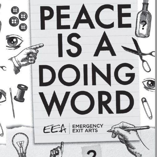 """Free teachers resource """"Peace is a Doing Word"""""""