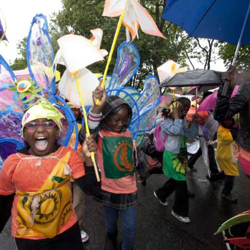 Newham Carnival - Celebrating the London 2012 Olympic Torch Relay