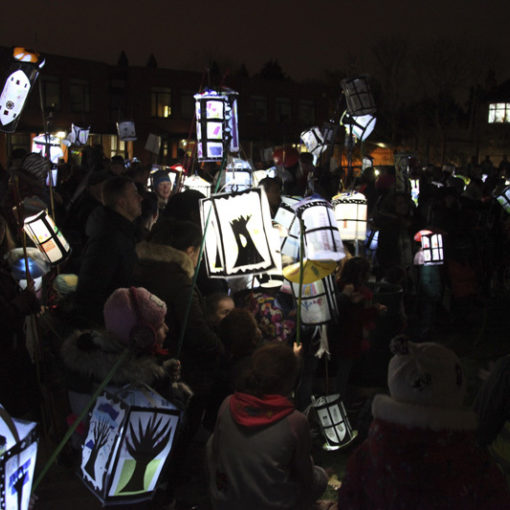 Catford South Kids Lantern Parade - Windows on the World