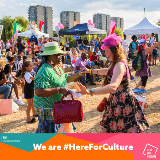 We've been awarded the Culture Recovery Fund!
