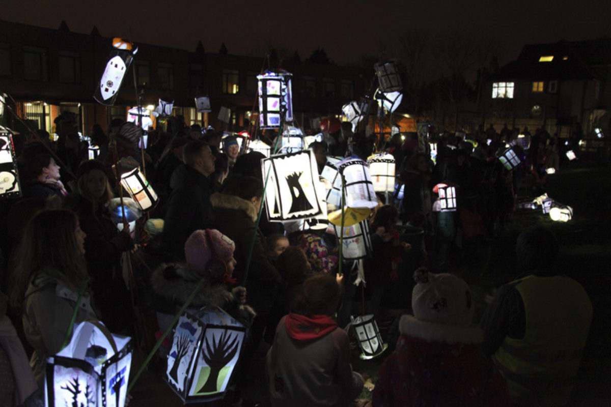 Catford South Kids Lantern Parade Windows On The World