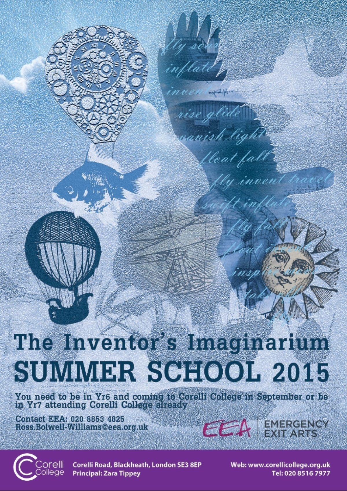 Inventors Imaginarium Corelli Summer School 2015 Flyer