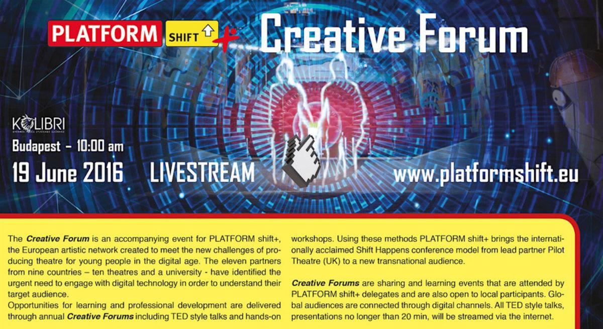 Platform Shift Creative Forum Budapest