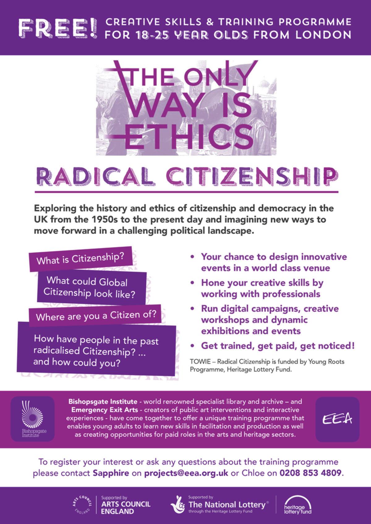 Towie Radical Citizenship