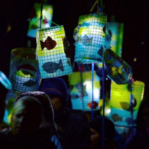 Lanterns, St Andrews Day - image credit Gingercat Pictures