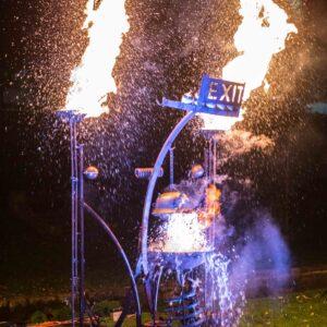 Dr. Kronovator's Fire Laboratory - Photo by Adam Lynk
