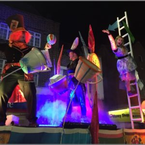 Mad Hatters for Eltham Lights Up