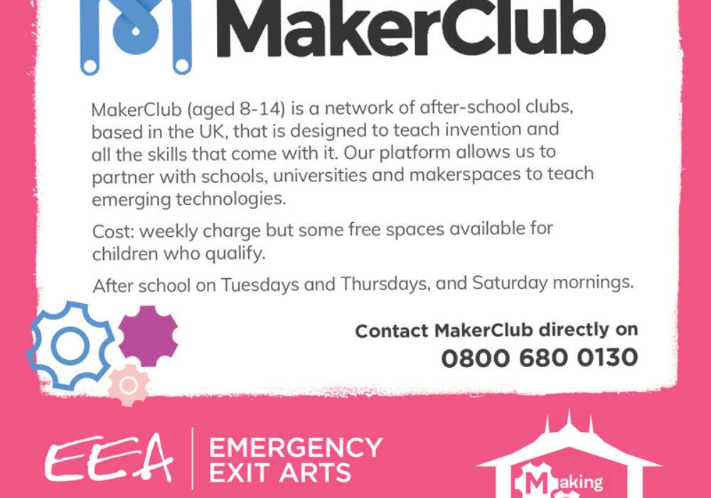 Making Space Maker Club Web