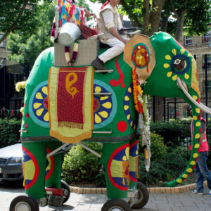 Mechanical Elephant 4