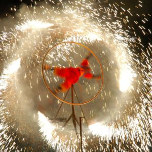 Pyrotechnic Performance 3