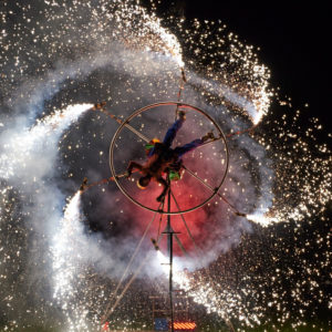 Pyrotechnic Performance 5